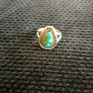 Jewelry - Vintage Navajo Sterling Silver and Turquoise Ring